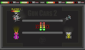 Gun Cars 2 Demolition Derby Free Flash Game