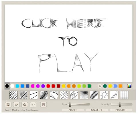 Pencil Madness Flash Game Flash Drawing Games Officegamespot Com