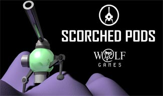 Scorched Pods Free Online Flash Game Screenshot